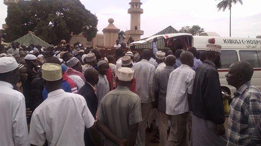 Prayers at Kibuli mosque