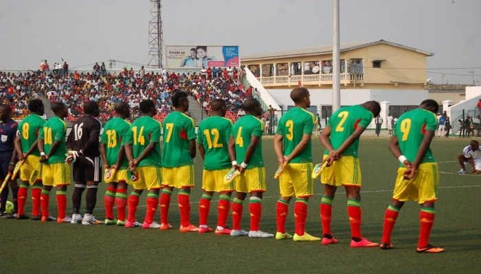 Players at an Afcon game
