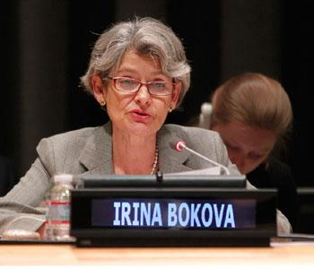 UNESCO'S Irina Bokova