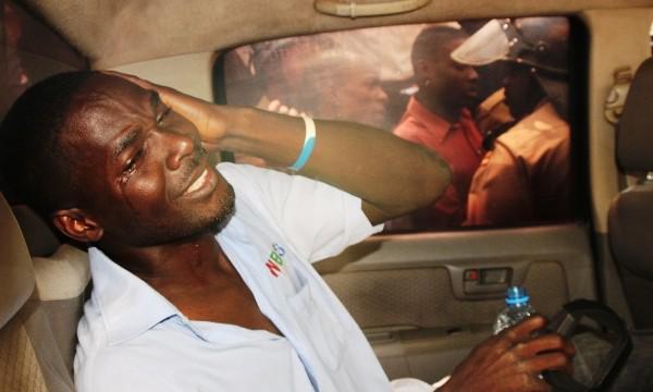 Journalist beaten up by police
