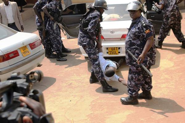 Journalist beaten by police officer