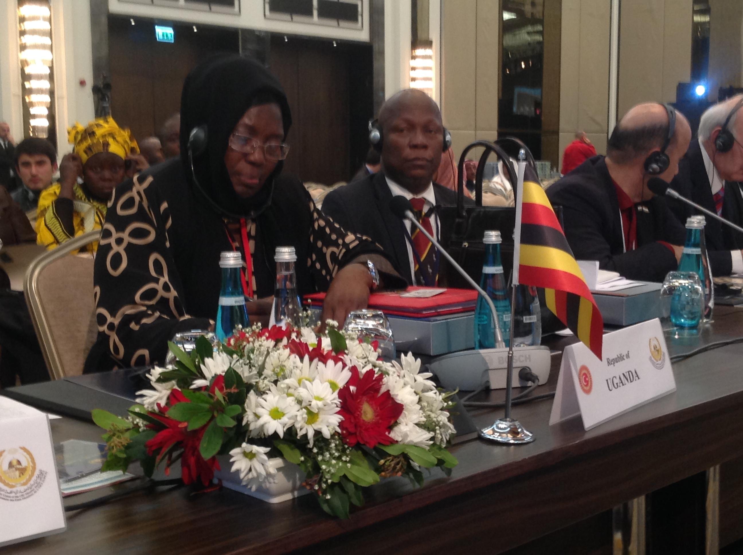 Speaker Rebecca Kadaga in Istanbul