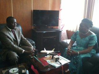 EALA Speaker Dan Kidega meets Uganda's Speaker Rebecca Kadaga
