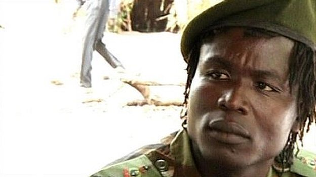 LRA Commander Dominique Ongwen