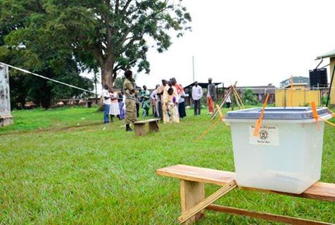 Voting starts in Luweero