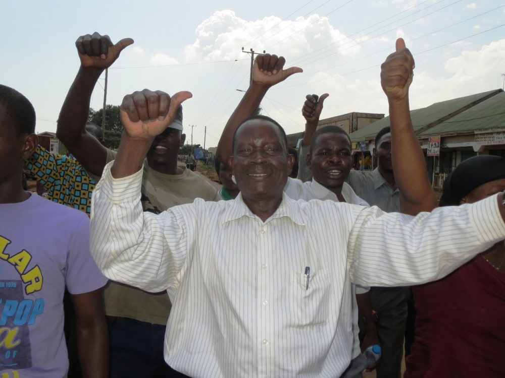 NRM's Wanyama celebrates Busia Victory