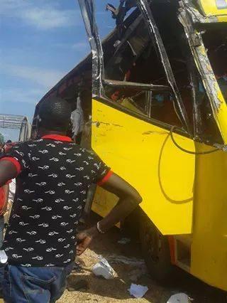 Bakulu Coach in an earlier accident