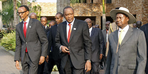EAC Heads of State