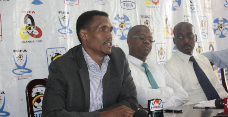 FUFA bosses at a recent weekly news conference