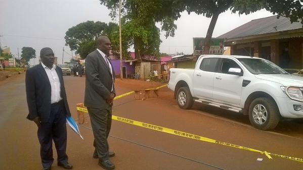 DPP Mike Chibita in Kiwatule