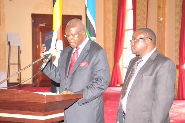 Justice Bart Katureebe sworn in as new Chief Justice