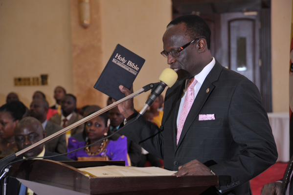 Justice Stephen Kavuma sworn in as Deputy CJ