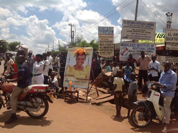 Museveni in luweero campaigns