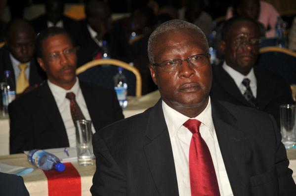 New Chief Justice Bart Katureebe
