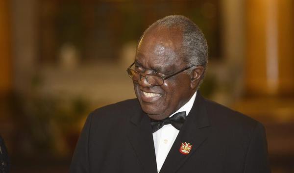 Former Namibian President Hifike-punye Pohamba