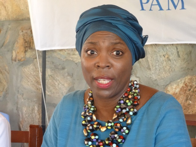 WFP boss Ms Ertharin Cousin
