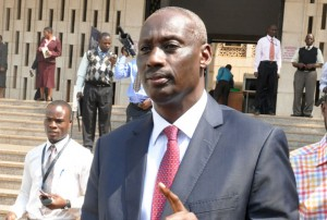 Internal Affairs Minister Gen. Aronda Nyakairima.