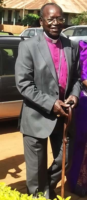 Retired Bishop of Busoga Rt. Rev Cyprian Bamwoze
