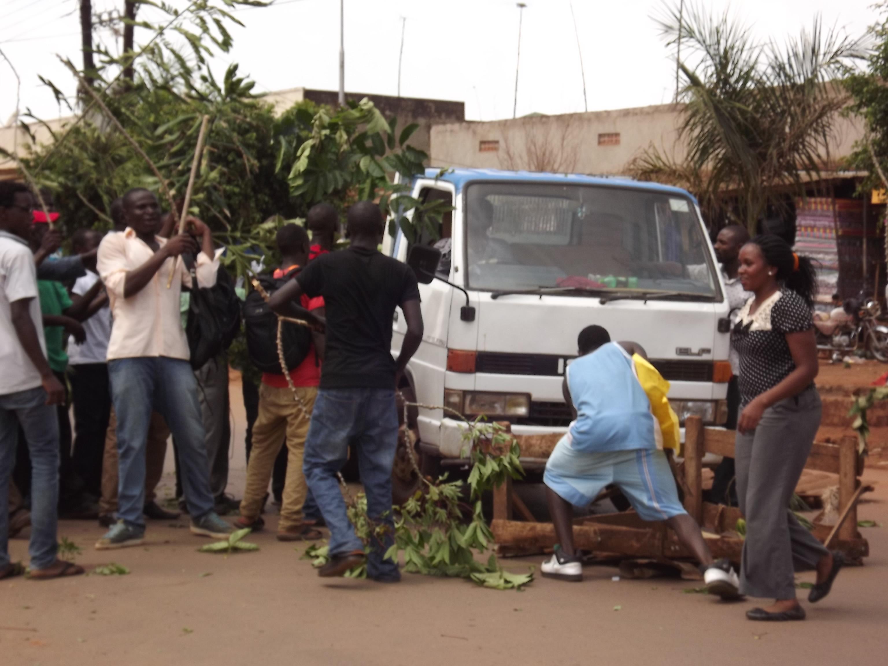 Bukalasa students demonstrate