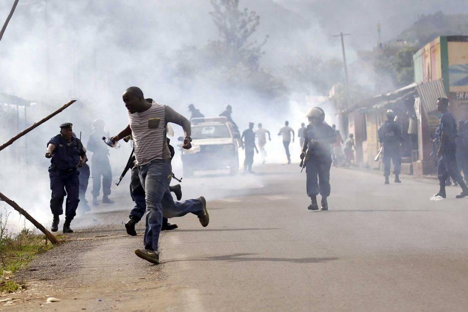 Burundi confict