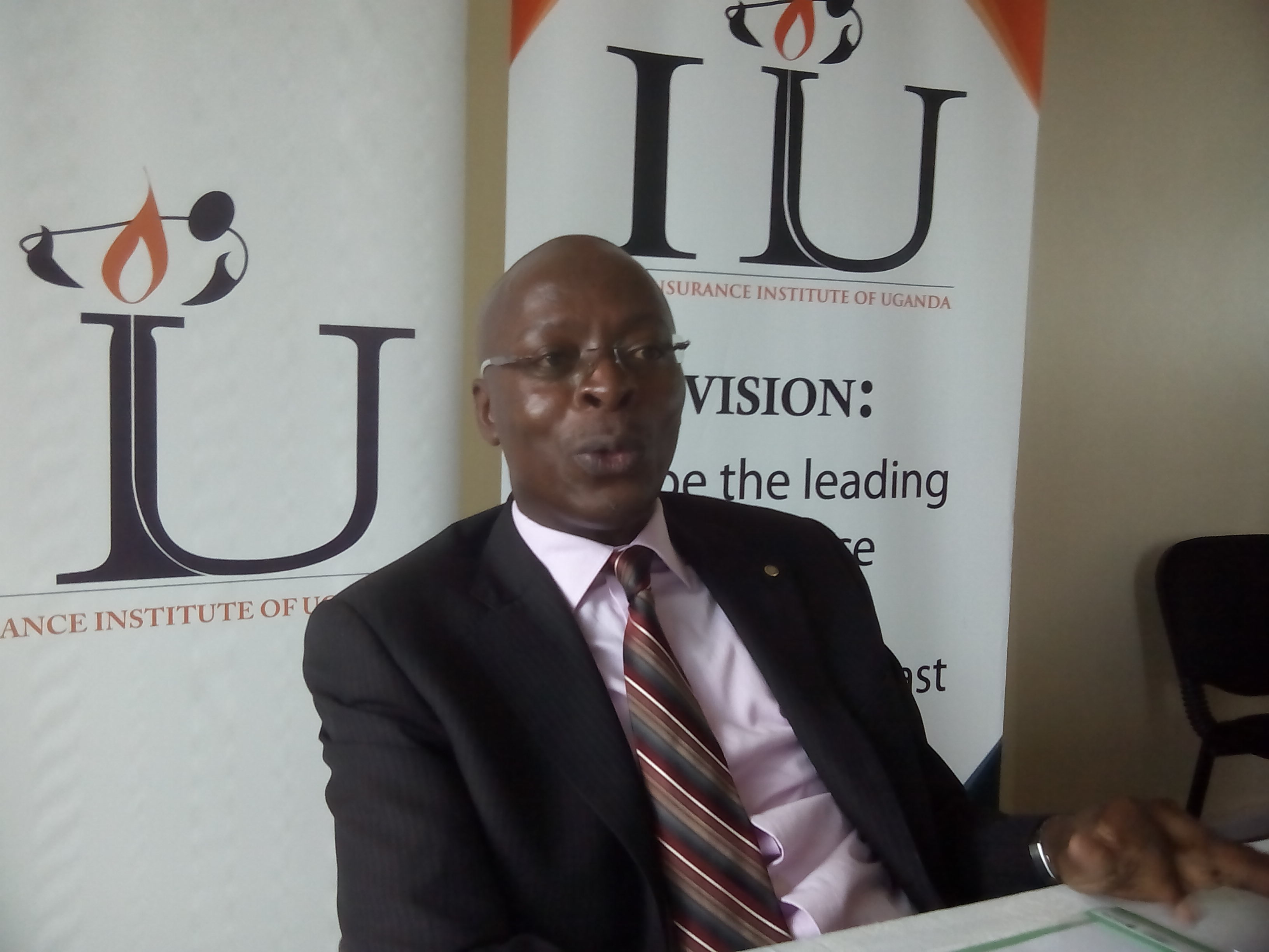 Mr. Elvis Khisa CEO Insurance Institute of Uganda