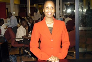 Rosemary Nankabirwa during her hey-days at NTV. (Internet photo)
