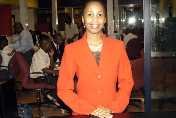 The late Rosemary-Nankabirwa during her hey-days at NTV. (Internet photo)