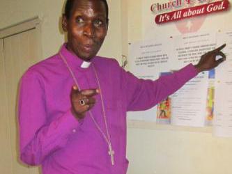 Rev. Godfrey Makumbi Buried