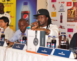 Is Bebe Cool under pressure ahead of concert?