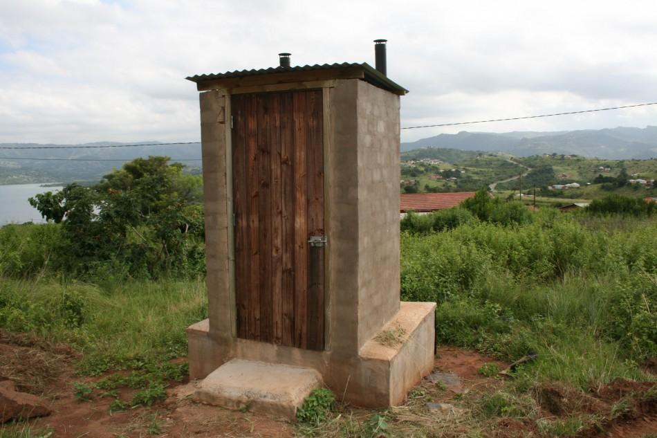 Pit Toilet Treatment