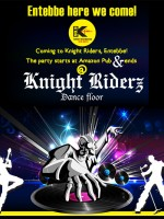 Knight Riders on the dance Floor