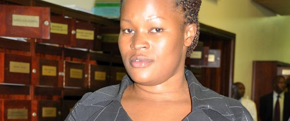 Lands Minister Idah Nantaba arrested for ballot stuffing
