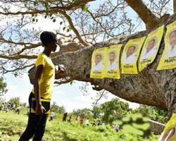 Six arrested for defacing Museveni's posters in Luuka