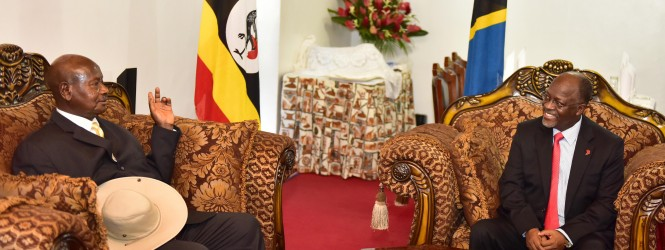 President Museveni In Arusha For EAC Summit