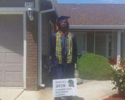 Student thrown out of his graduation for wearing African print