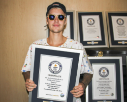 Justin Bieber Scores 8 Guinness World Records