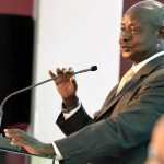 Museveni at Tokyo conference