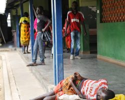 TB Patients Admitted In General Wards At Kaabong Hospital