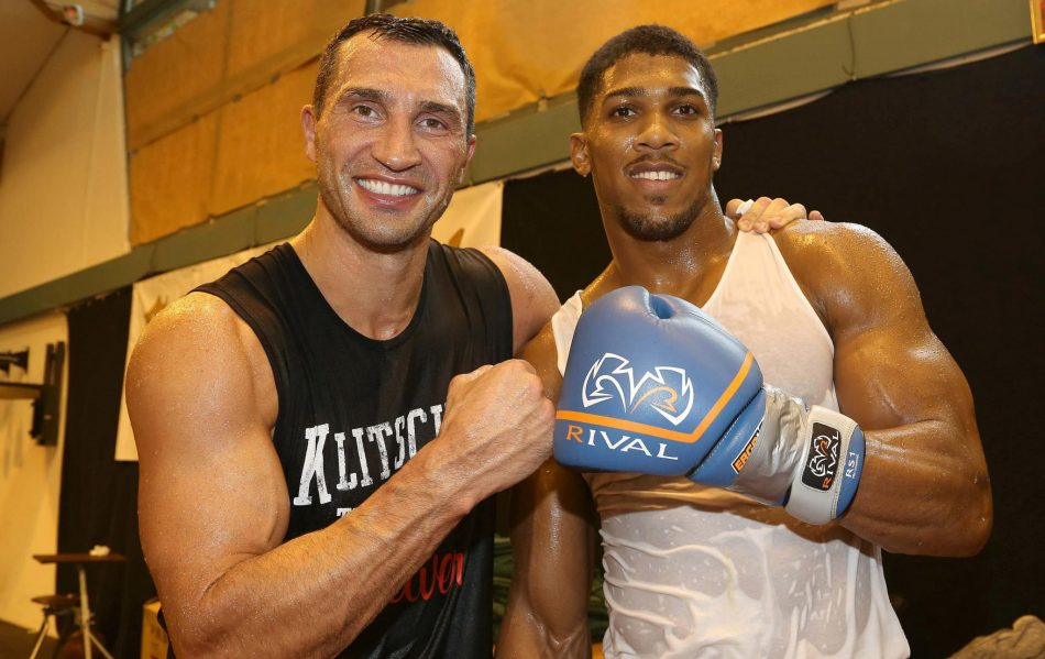 Image result for Joshua and Klitschko 'agree to fight'