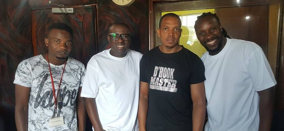 Dj Roja Freddie and The Ganda Boyz on D'Hook