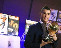 Cristiano Ronaldo wins his fourth Ballon d'Or