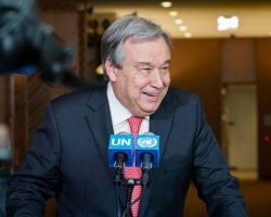 UN Chief faults global media for not reporting on refugee crisis in Uganda