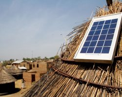 Police offciers steal solar panels