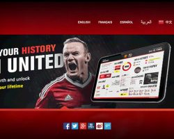 Manchester United have the most visited clubwebsitein the world