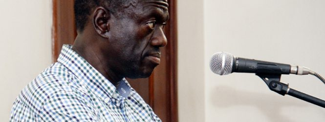"Dr Kiiza Besigye ""today was my last appearance in court """