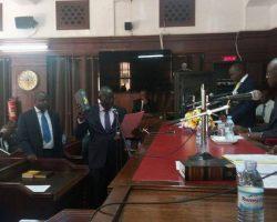 CJ Katurebe warns new electoral commission.