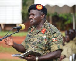 Gen Katumba leaves happy