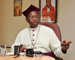 Religious and political leaders have accused Rev Stanley Ntagali of 'honoring' political leaders rather than God.