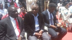 Mohamed Kivumbi (butambala MP) Lord Mayor Elias Lukwago and Ssewanyana (MP makindye East)