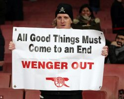 Arsene Wenger insists Arsenal fan protests won't force him out